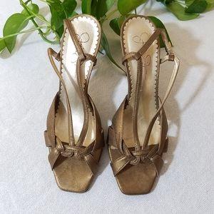 Jessica Simpson Dressy Sandals, sz 8B